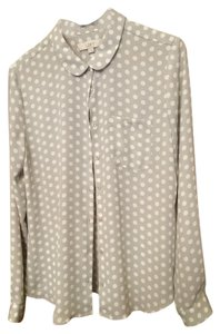 Ann Taylor LOFT Top dots