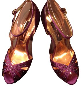 Nina Shoes Deep Purple Formal