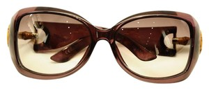 Gucci GG2991 F S ALO Dark Purple Sunglasses