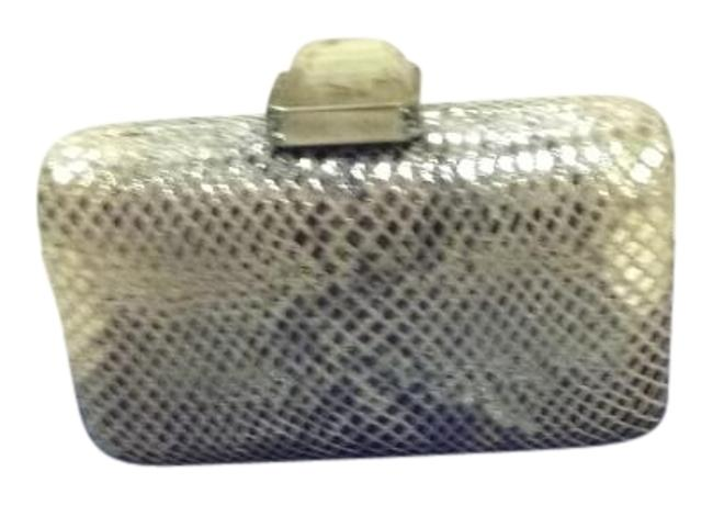 Item - Overture Gold Python Leather Clutch
