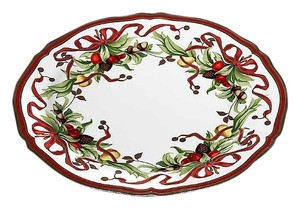 Tiffany Holiday Serving Plate
