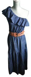 Denim Maxi Dress by JFW