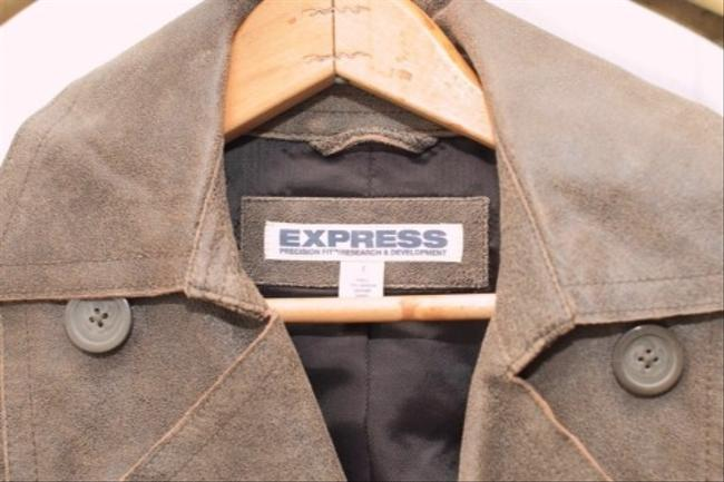 Express Olive Brown Jacket