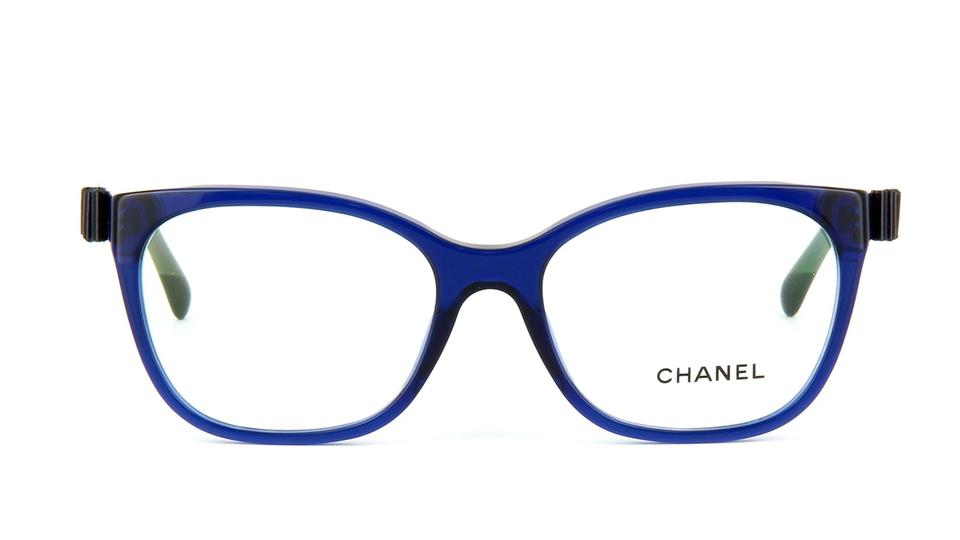 Chanel Patent Leather Bow Charm Cat Eye Eyeglasses CH5281 ...
