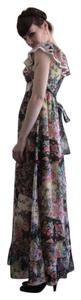 Floral Print Maxi Dress by Misty Lane Boho Bohemian Festival Hippie