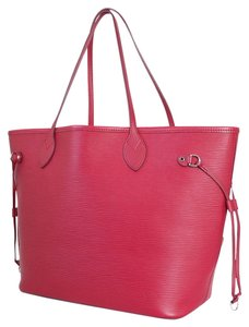 Louis Vuitton Neverfull Shopping Tote in Pink