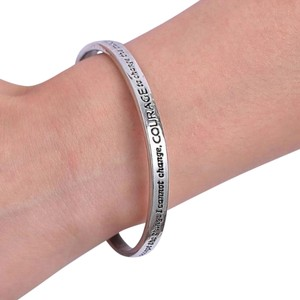Serenity Prayer Bangle Cuff