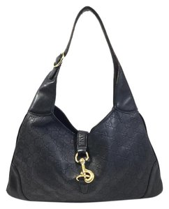 Gucci Unique Monogram Designer Hobo Bag