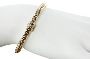 Fope Gioielli Fope Gioielli FLEX' IT Solo Rose Gold Diamond Bracelet