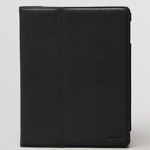 Jack Spade Jack Spade Wesson Leather ipad Case Folio Black NWOT