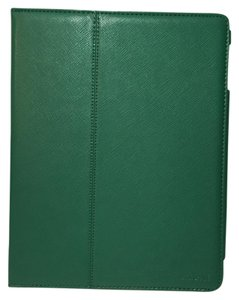 Jack Spade JACK SPADE Wesson Leather ipad Case Folio GREEN NWOT