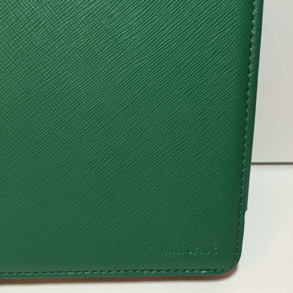 a7d9f6916543d Jack Spade Wesson Leather Ipad Case Folio Green Nwot Tech Accessory -  Tradesy