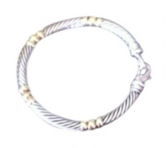 Preload https://item5.tradesy.com/images/david-yurman-sterling-silver-and-gold-bracelet-153359-0-0.jpg?width=440&height=440