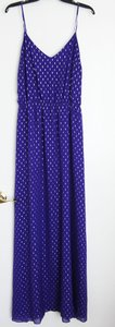 Purple and silver Maxi Dress by Lilly Pulitzer Puple Gold