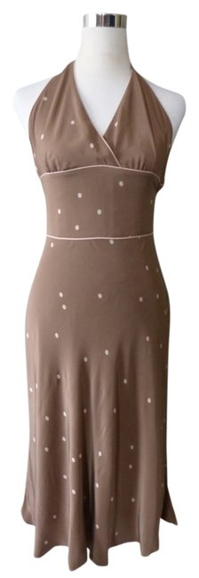 Preload https://img-static.tradesy.com/item/1533645/studio-m-silk-brown-small-mid-length-cocktail-dress-size-4-s-0-0-650-650.jpg