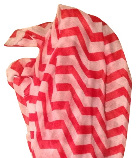 Other Red Chevron Scarf