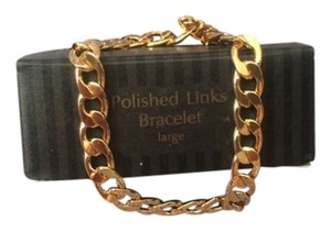 Avon Vintage Avon Polished Links Bracelet Large New in Box
