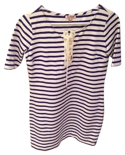 Juicy Couture short dress blue and white on Tradesy