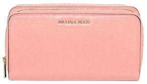 Michael Kors Michael Kors jet set Large Double-Zip Wallet