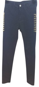 CAR MAR Black Skinny Pants