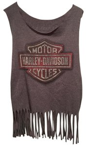 0316d3bf4a35a Grey Harley Davidson Tops - Up to 70% off a Tradesy