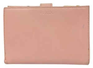 Furla FURLA PINK LEATHER BI FOLD WALLET