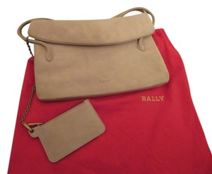 Bally Stone Beige Clutch