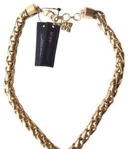 BCBGMAXAZRIA statement chain necklace