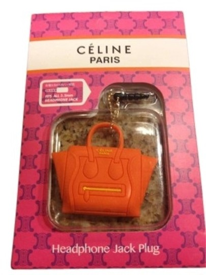 Preload https://item2.tradesy.com/images/celine-orange-phone-purse-dust-plug-designer-chic-tech-accessory-153411-0-0.jpg?width=440&height=440