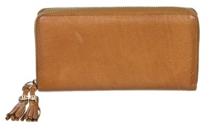 Gucci Gucci Tan Leather Marrakech Wallet