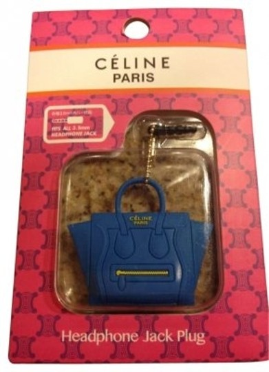 Preload https://item5.tradesy.com/images/celine-blue-phone-dust-plug-purse-charm-designer-glam-tech-accessory-153414-0-0.jpg?width=440&height=440