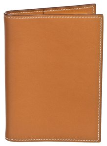 Hermès Hermes Gold Swift Leather Simple GM Notebook