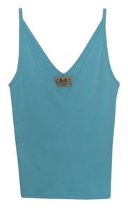 Juicy Couture Coutour Cami Top Blue Green