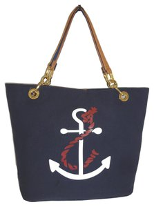 Tommy Hilfiger Canvas Tote in NAVY
