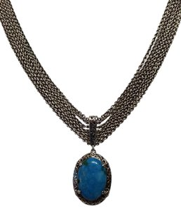 Lois Hill Lois Hill Turquoise Bib Necklace