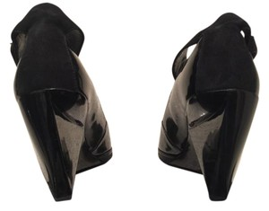 United Nude Modern Wedge Patent Leather Wedges