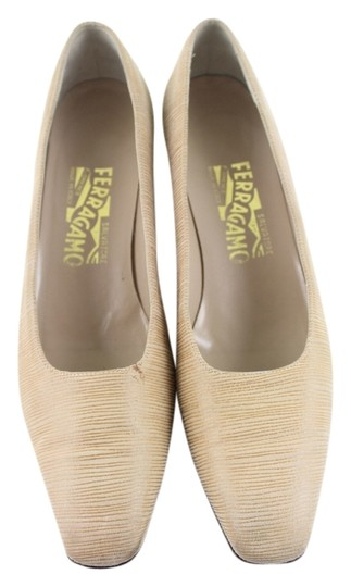 Salvatore Ferragamo Beige Formal