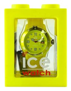 Ice Ice-Watch Unisex SI.YW.U.S.09 Sili Collection Yellow Plastic and Silicone Watch 42mm