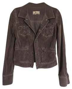 Juicy Couture Corduroy Brown Womens Jean Jacket