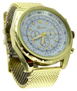Geneva * Geneva Men's Gold-Tone