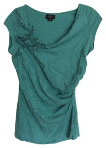 Deletta Anthropologie Top Turquoise blue
