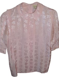 Lloyd Williams Sheen Shine Work Night Out Versatile Button Down Shirt pink