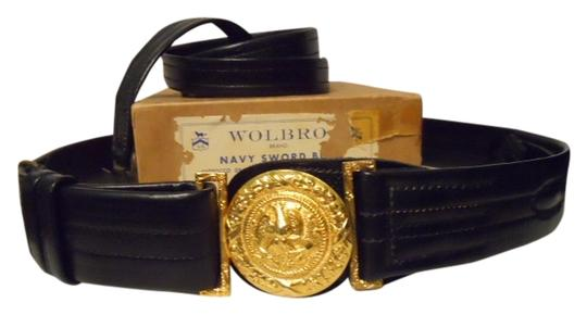 Wolf-Brown Vintage Navy sword belt