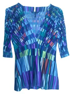 BCBGMAXAZRIA Bcbg Max Azria Size Small Top Multi Color