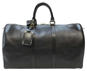 Louis Vuitton Keepall 45 Leather Travel Bag