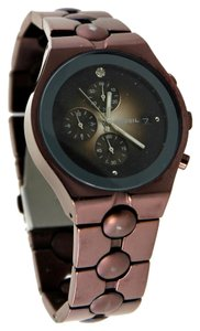 Fossil Fossil Men's Chronograph Brown Degrade Dial Watch 40mm
