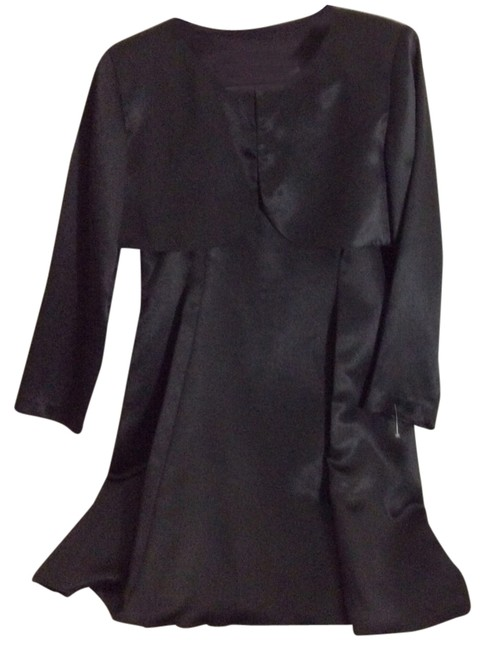 Preload https://img-static.tradesy.com/item/1534305/black-2-piece-satin-above-knee-cocktail-dress-size-16-xl-plus-0x-0-0-650-650.jpg