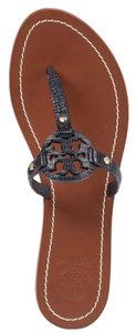 Tory Burch Tory navy blue Sandals