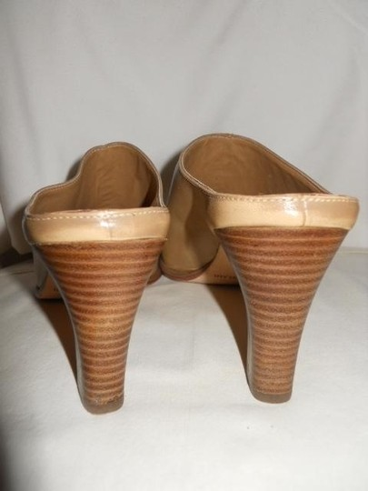 Antonio Melani Leather tan Mules Image 4