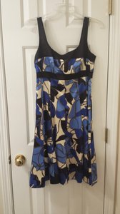 Nine West short dress Blue Multi Color Dress on Tradesy